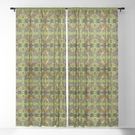 Whistling Duck Sheer Curtain