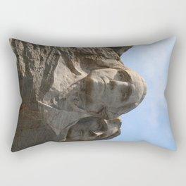 George Washington And Thomas Jefferson  - Mount Rushmore Rectangular Pillow