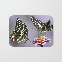 Swallow tail  or Christmas Butterfly Bath Mat
