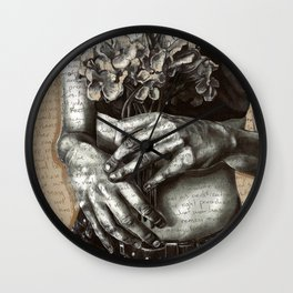 Repent and Give Wall Clock