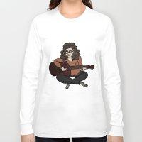 megan lara Long Sleeve T-shirts featuring Lara by Ilse Busschers