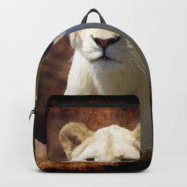 African White Lion Backpack