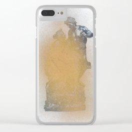 Metallurgy Clear iPhone Case