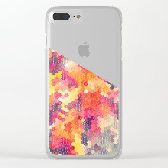Summer Garden 4 Clear iPhone Case