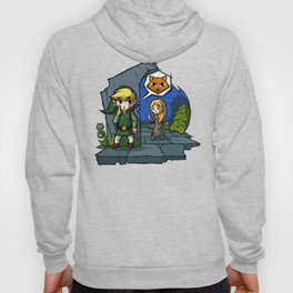 Legend of Zelda Wind Waker Meow T-Shirt Hoody