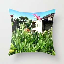 A Day in Sana'a Throw Pillow