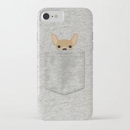 Pocket Chihuahua - Tan iPhone Case