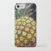 pineapples iPhone & iPod Cases featuring Pineapples by UMe Images