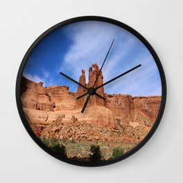 A Nature's Beauty The Gossips Wall Clock