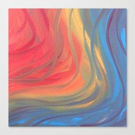 Ribbons of Imagination Canvas Print