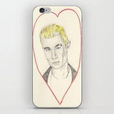 Spike Love iPhone & iPod Skin