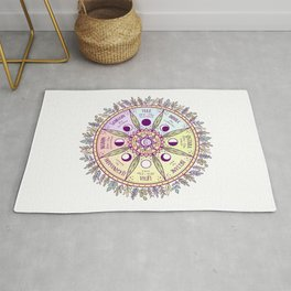Wheel of the Year Rug