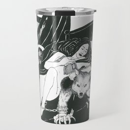 Red Riding Hood and The Big Bad Wolf Travel Mug
