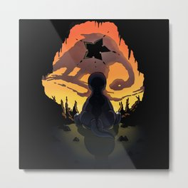 The Land Before Time Metal Print