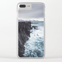 The Edge - Landscape and Nature Photography Clear iPhone Case
