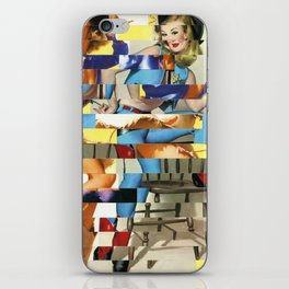 Glitch Pin-Up Redux: Yasmin & Yardley iPhone Skin