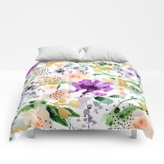 Violet #society6 #decor #buyart Comforters