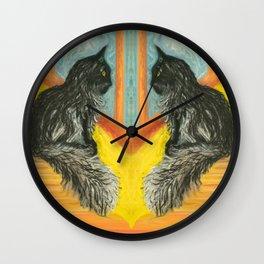 Betsy's Cat Wall Clock