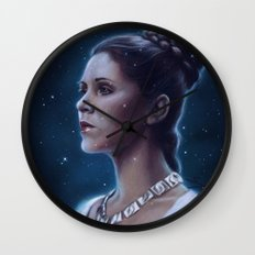 One With The Force Wall Clock