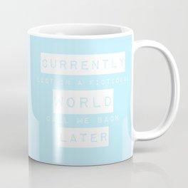 Lost in a Fictional World Coffee Mug