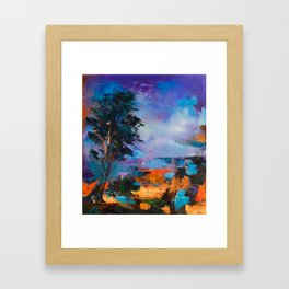 By the Canyon Framed Art Print