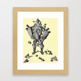 Robot Framed Art Print