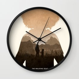Clementine (TWD) Wall Clock