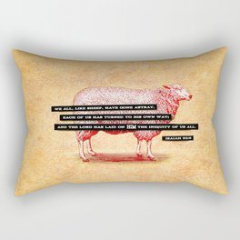 Like Sheep Rectangular Pillow