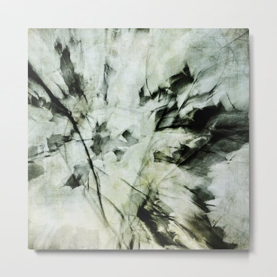 fractured Metal Print