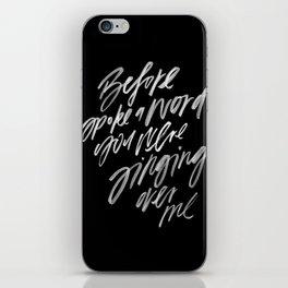 Reckless Love -- Cory Asbury & Bethel Music iPhone Skin
