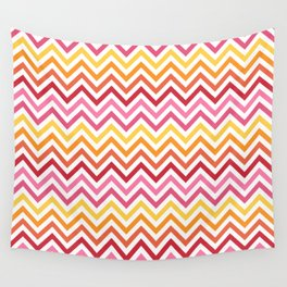 Rainbow Chevron #1 Wall Tapestry