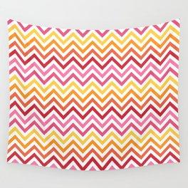 Rainbow Chevron #1 Wall Tapestry