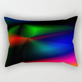 BLACK Rectangular Pillow