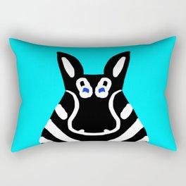 Zebra - The Front End Rectangular Pillow