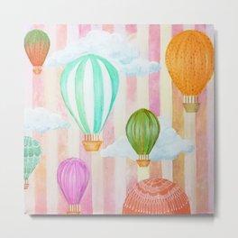 Balões Metal Print