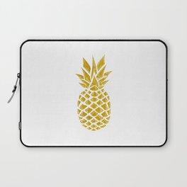 Gold Pineapple Laptop Sleeve