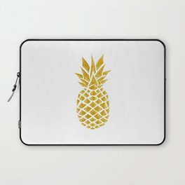 Gold Pineapple Laptop Sleeve