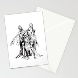 Shifted Lands Live-Action Role-Playing Game Promo Poster Stationery Cards
