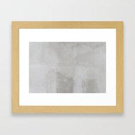 just cement Framed Art Print