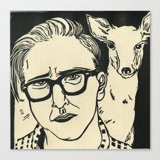 Animal Spirits-Doe Canvas Print