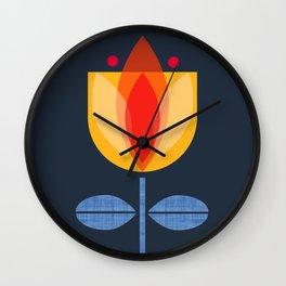 Tulipan Wall Clock