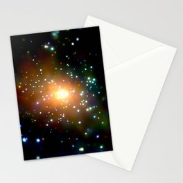 1844. Andromeda Galaxy (M31): The Heat Is On in Andromeda's Center Stationery Cards