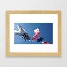 Jardín Japonés Framed Art Print