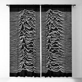 J. Division lines | dj gift Blackout Curtain