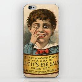Pettit's Eye Salve iPhone Skin