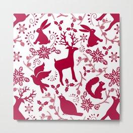 Woodland Wonderland Metal Print
