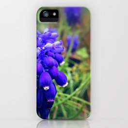Raindrop Kisses iPhone Case