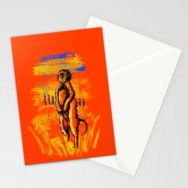 Get on alert Meerkat Stationery Cards