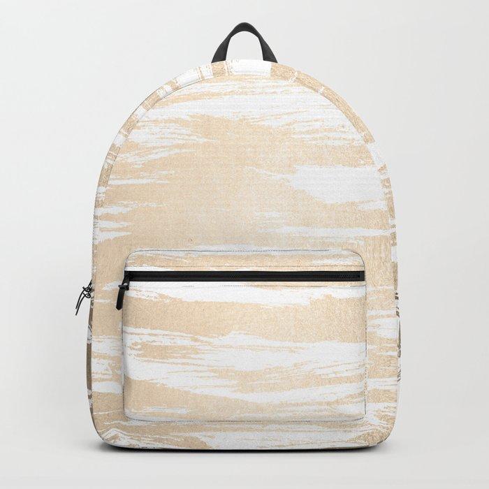 White Gold Sands Paintbrush Backpack