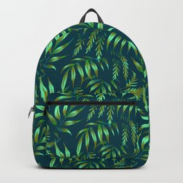 Brooklyn Forest - Green Backpack